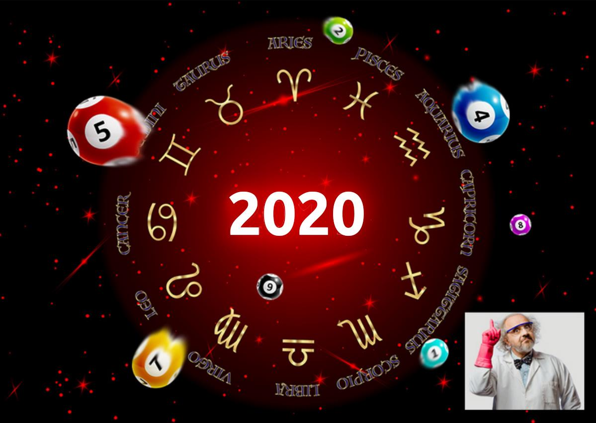 Your lucky numbers for 2020!